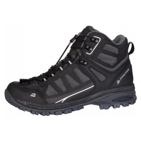 ALPINE PRO LARK Uni outdoorová obuv UBTM172990 černá