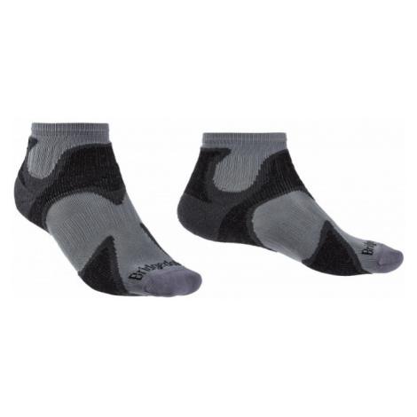 Ponožky Bridgedale Trailsport UL T2 MC Ankle gunmetal/black/863