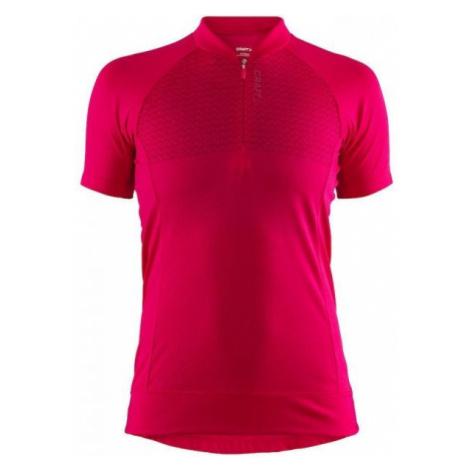 Craft RISE růžová - Dámský cyklistický dres