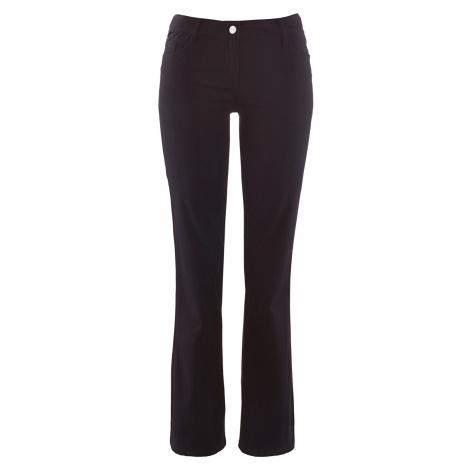 Strečové kalhoty Bootcut Bonprix