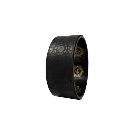Sharp Shape Yoga wheel Mantra black