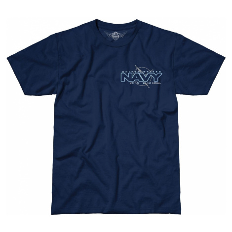 Pánské tričko 7.62 Design® US Navy Compass - modré