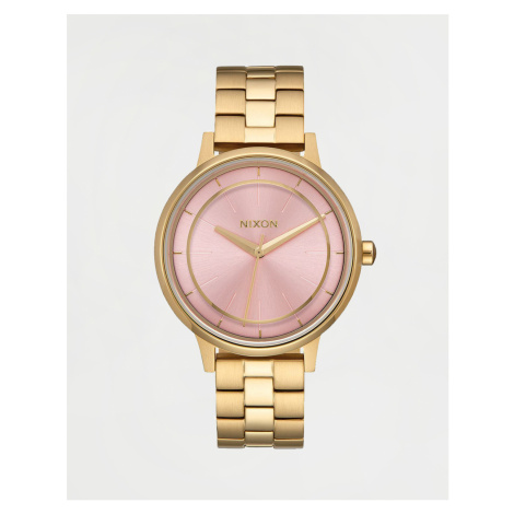 Nixon Kensington Light Gold / Pink