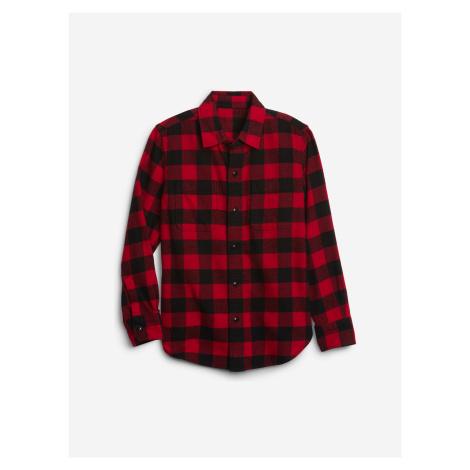 Košile dětská GAP Červená