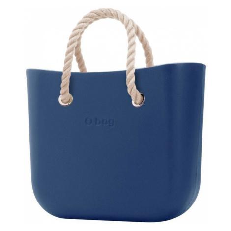 O bag kabelka MINI Bluette s krátkymi provazy natural