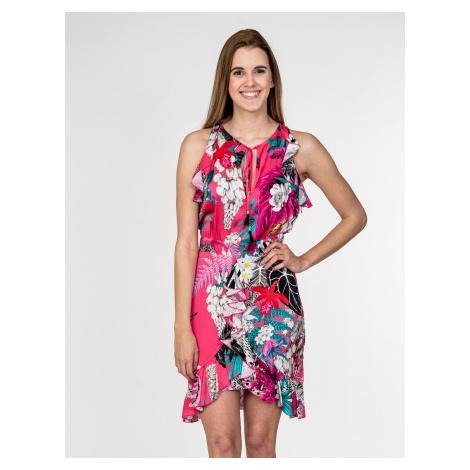 Růžové letní šaty - JUST CAVALLI