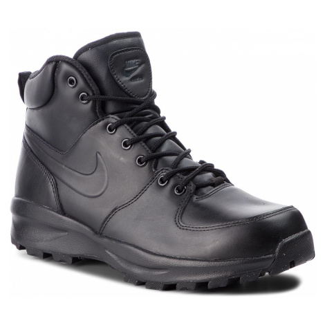 Boty NIKE - Manoa Leather 454350 003 Black/Black/Black