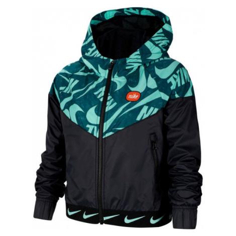 Nike NSW WR JACKET JDIY G černá - Dívčí bunda