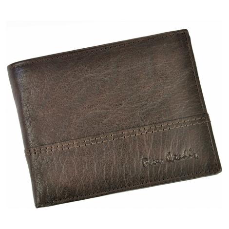 Pánská kožená peněženka Pierre Cardin Francois - hnědá