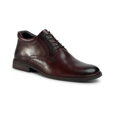 Šněrovací obuv Lasocki for men MI07-A933-A761-08 Přírodní kůže (useň) - Lícová