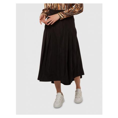 Sukně La Martina Woman Taffeta' Skirt - Černá