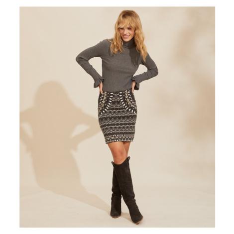 Sukně Odd Molly Stardust Skirt - Černá