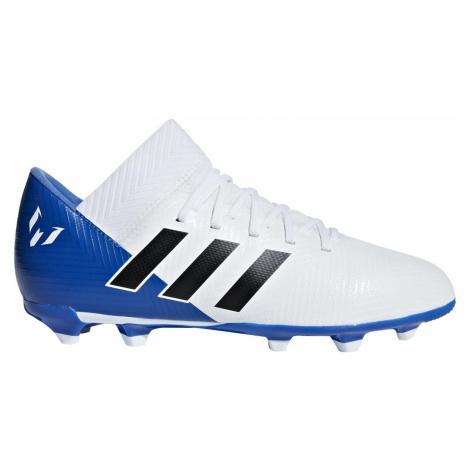Dětské kopačky Adidas Nemeziz 18.3. FG Bílá / Modrá