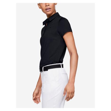Tričko Under Armour Zinger Short Sleeve Polo Černá