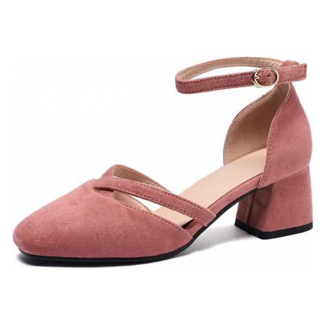Elegantní sandály společenské s uzavřenou patou a plnou špičkou