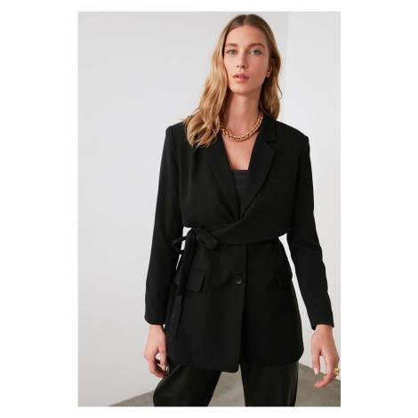 Trendyol Black Tie Blazer