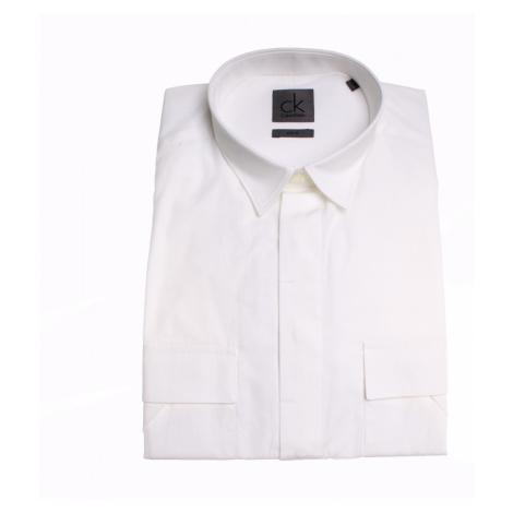 Calvin Klein pánská bílá košile