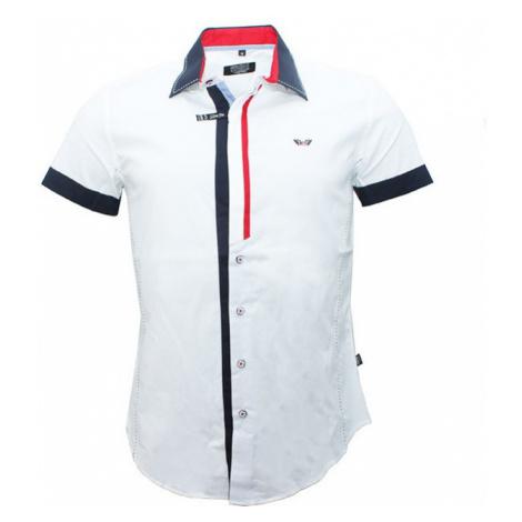 CARISMA košile pánská 9007 krátký rukáv slim fit