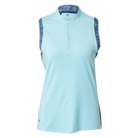 Adidas Golf Sportovní top modrá / světlemodrá
