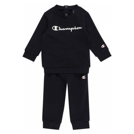 Champion Authentic Athletic Apparel Joggingová souprava námořnická modř / bílá / ohnivá červená