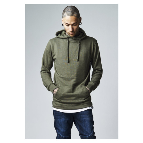 Loose Terry Long Hoody - olive Urban Classics
