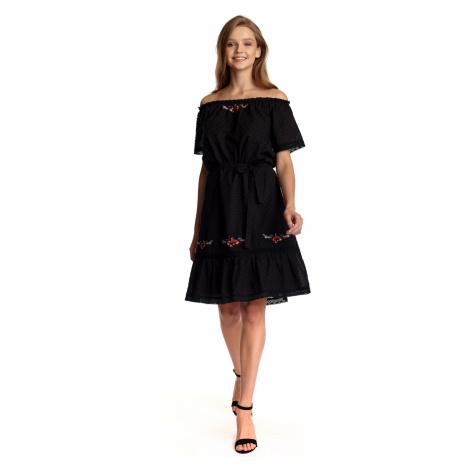 Boho černé šaty Vive Maria Black dream