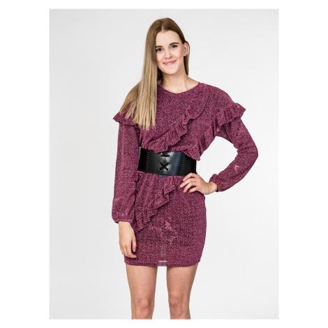 Fialové šaty - CYCLE JEANS