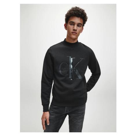 Calvin Klein pánská černá mikina Monogram