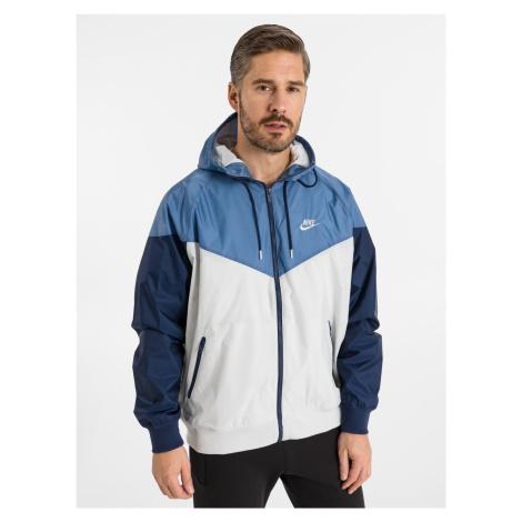 Sportswear Windrunner Bunda Nike Modrá