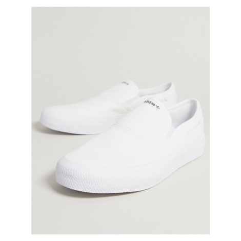 Adidas Originals 3MC slip on trainers in white