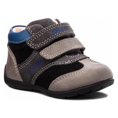 Kotníková obuv GEOX - B Kaytan B. A B8250A 022CL C0005 Black/Dk Grey
