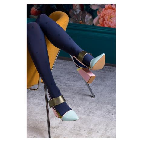 Vzorované punčochové kalhoty Nelly Gabriella