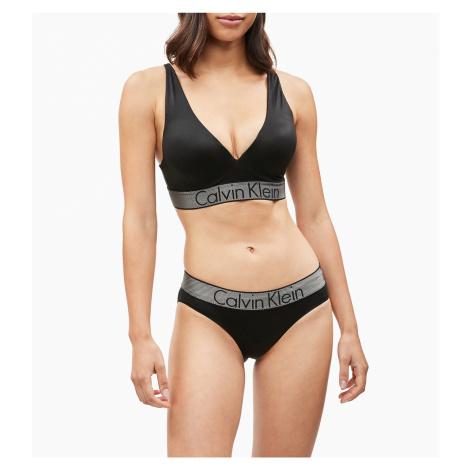 Dámská sportovní podprsenka Calvin Klein push-up Customized Stretch černá