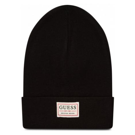 Guess GUESS pánská černá čepice