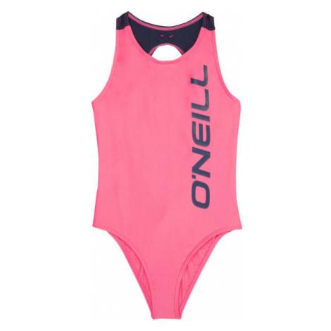 O'Neill PG SUN & JOY SWIMSUIT růžová - Dívčí jednodílné plavky