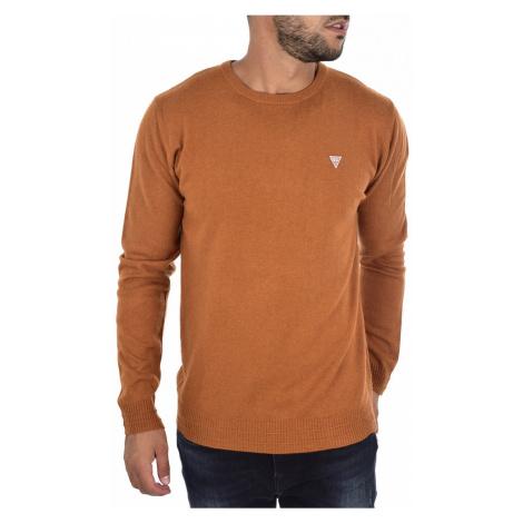 GUESS pánský oranžový svetr