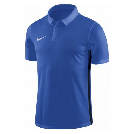 Dětské polo tričko Nike Academy Modrá