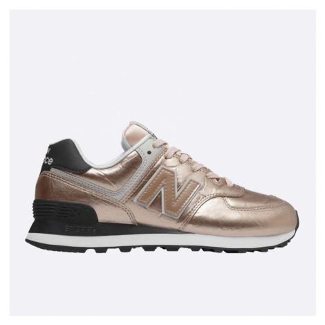 Dámské růžové tenisky New Balance WL574WER
