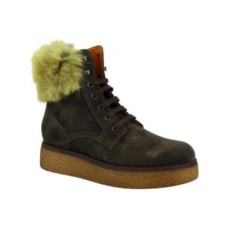 Leonardo Shoes 3008/1 VERDE Zelená