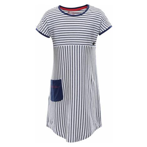 ALPINE PRO TERESO Dětské šaty KSKR067677PA estate blue