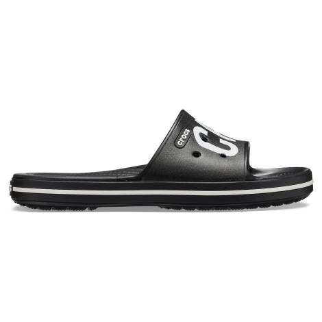 Crocs Crocband III Printed Slide Black/White
