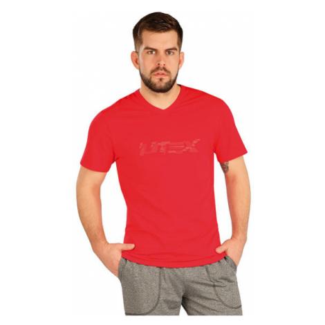 Pánské triko s krátkým rukávem Litex 5A380 | červená