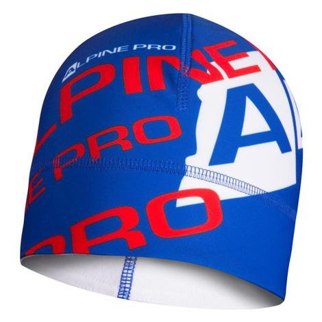 ALPINE PRO MAROG Unisex čepice UHAP061674PD Blue aster