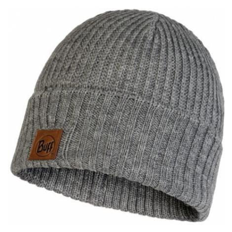 Buff Knitted Hat Rutger melange grey