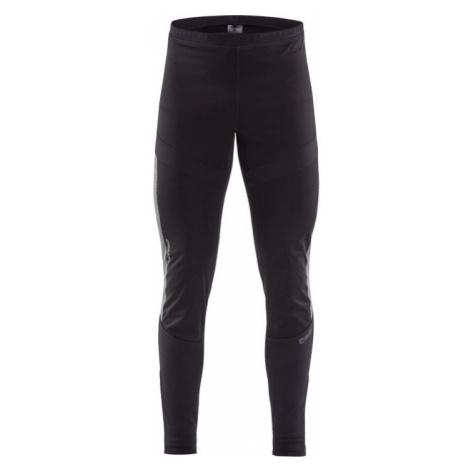 Pánské kalhoty CRAFT SubZ Wind Tights černá s potiskem