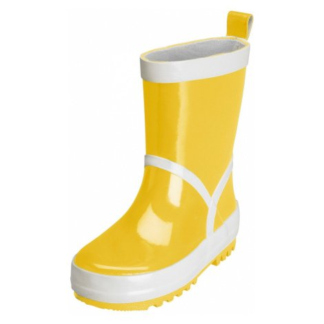 PLAYSHOES Gumové holínky žlutá / bílá