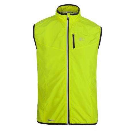 NEWLINE BASE TECH Pánská běžecká vesta 14247-090 neonově žlutá