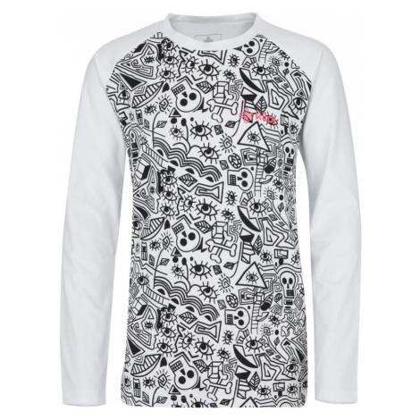 KILPI Dívčí bavlněné tričko VANILA-JG JJ0048KIWHT Bílá