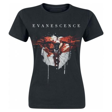 Evanescence Synthesis dívcí tricko černá