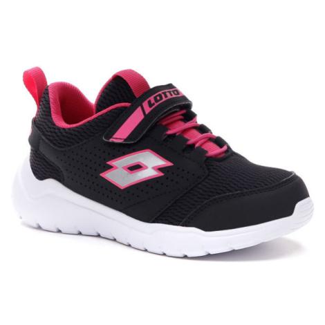 Lotto SPACEULTRA CL SL černá - Dívčí volnočasové boty